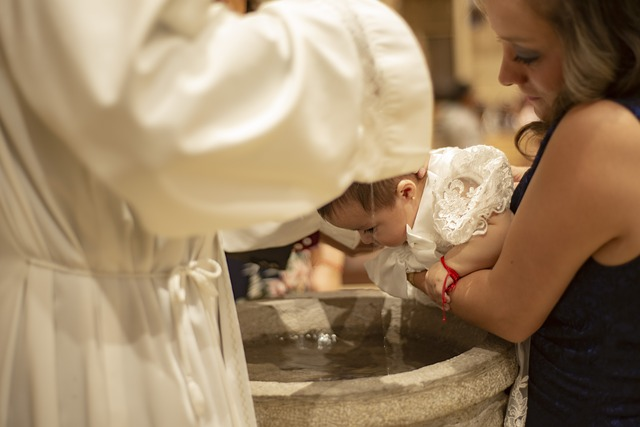 celebrar bautizos en Madrid,